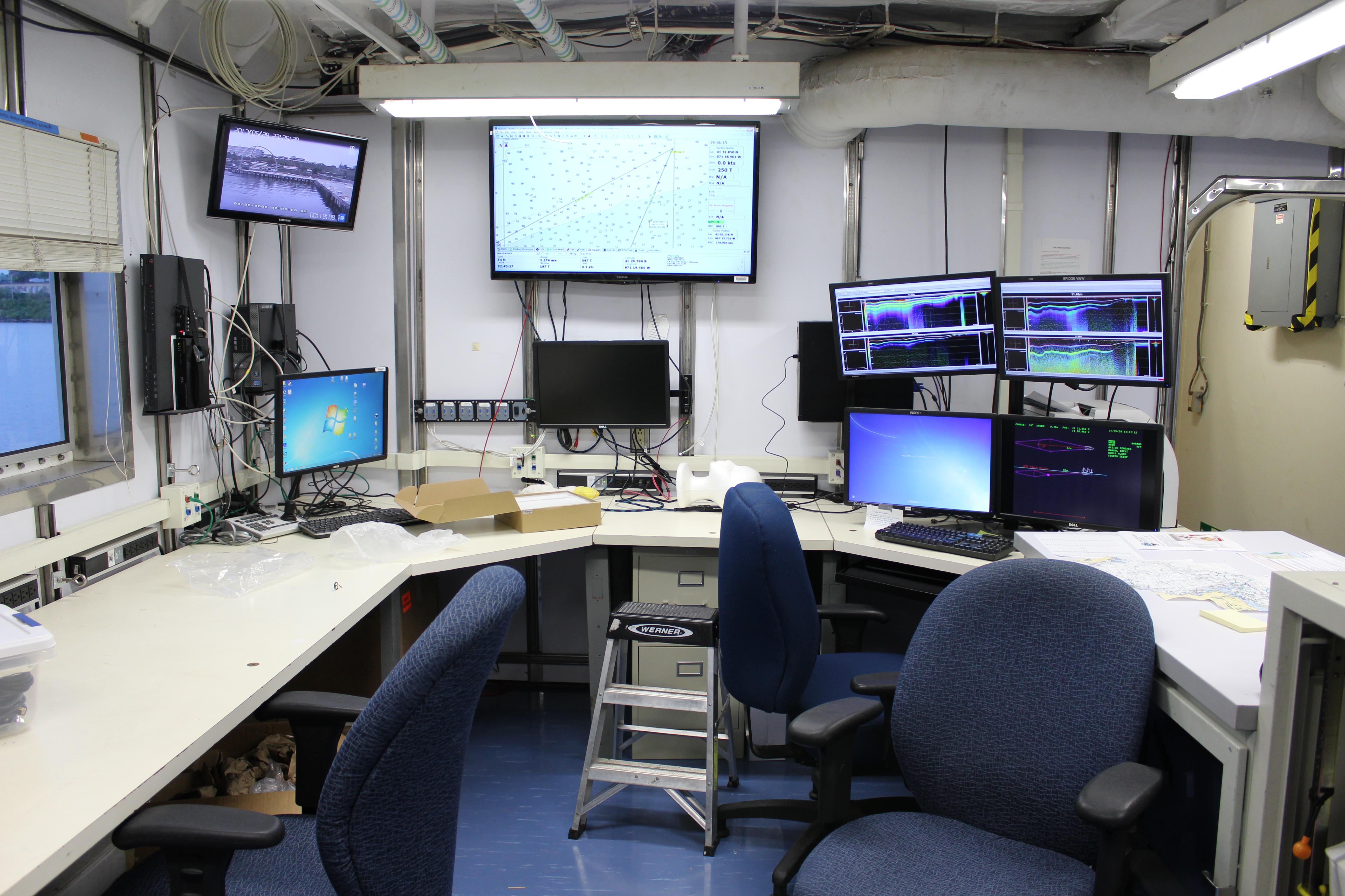 Bridge Noaa Teacher At Sea Blog Computer Programcontrolled Circuit Board Recycling Equipment Img 8509