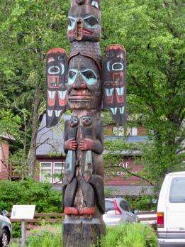 Totem in Ketchikan