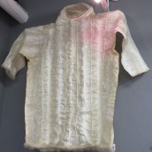 Seal intestine raincoat