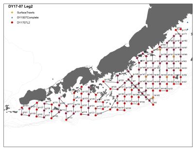 Leg 2 Map