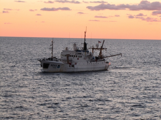 NOAA Ship Oregon II Sunset_NOAA Photo