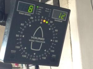Electronic Wind Tracker