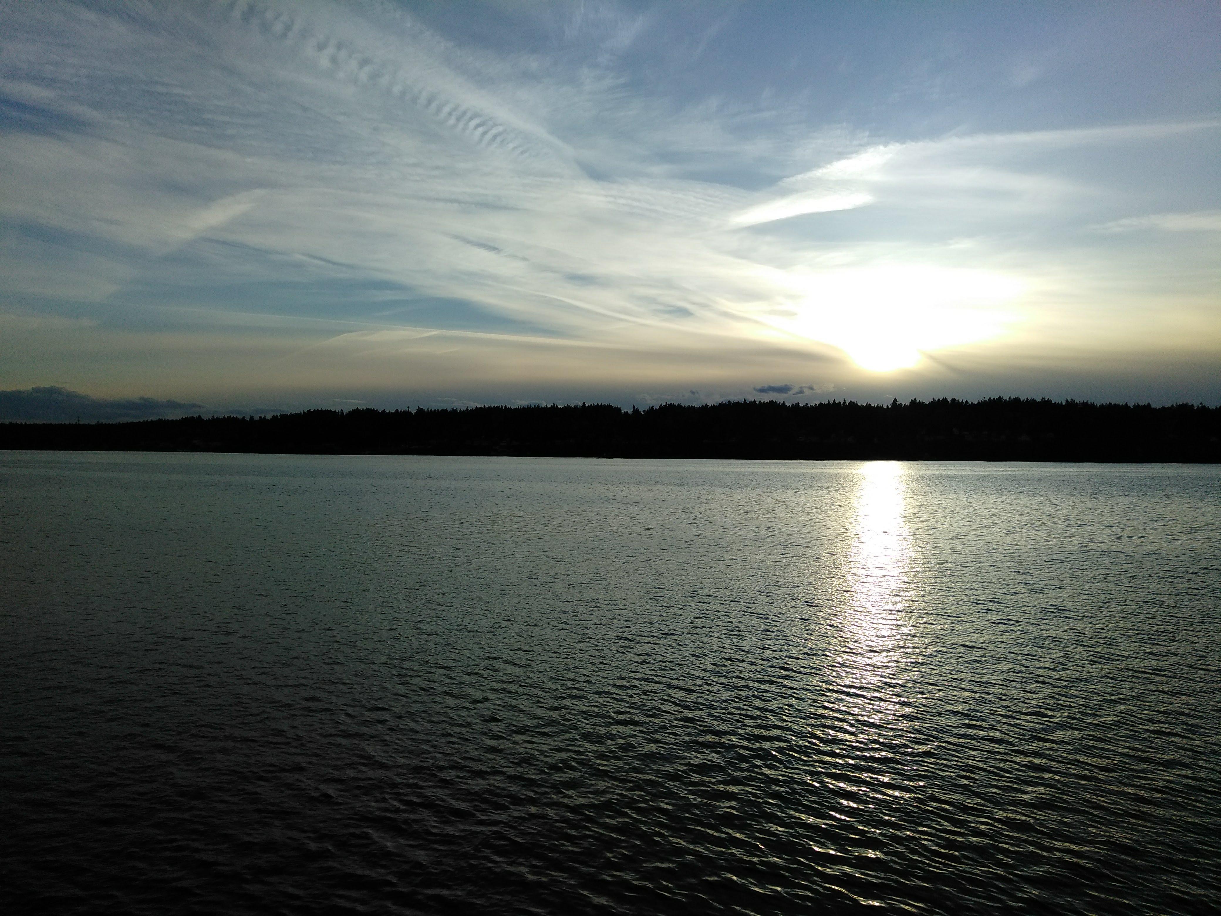 Sunset in Port Madison