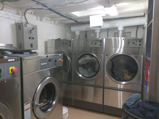 The Ship's Laundry Room