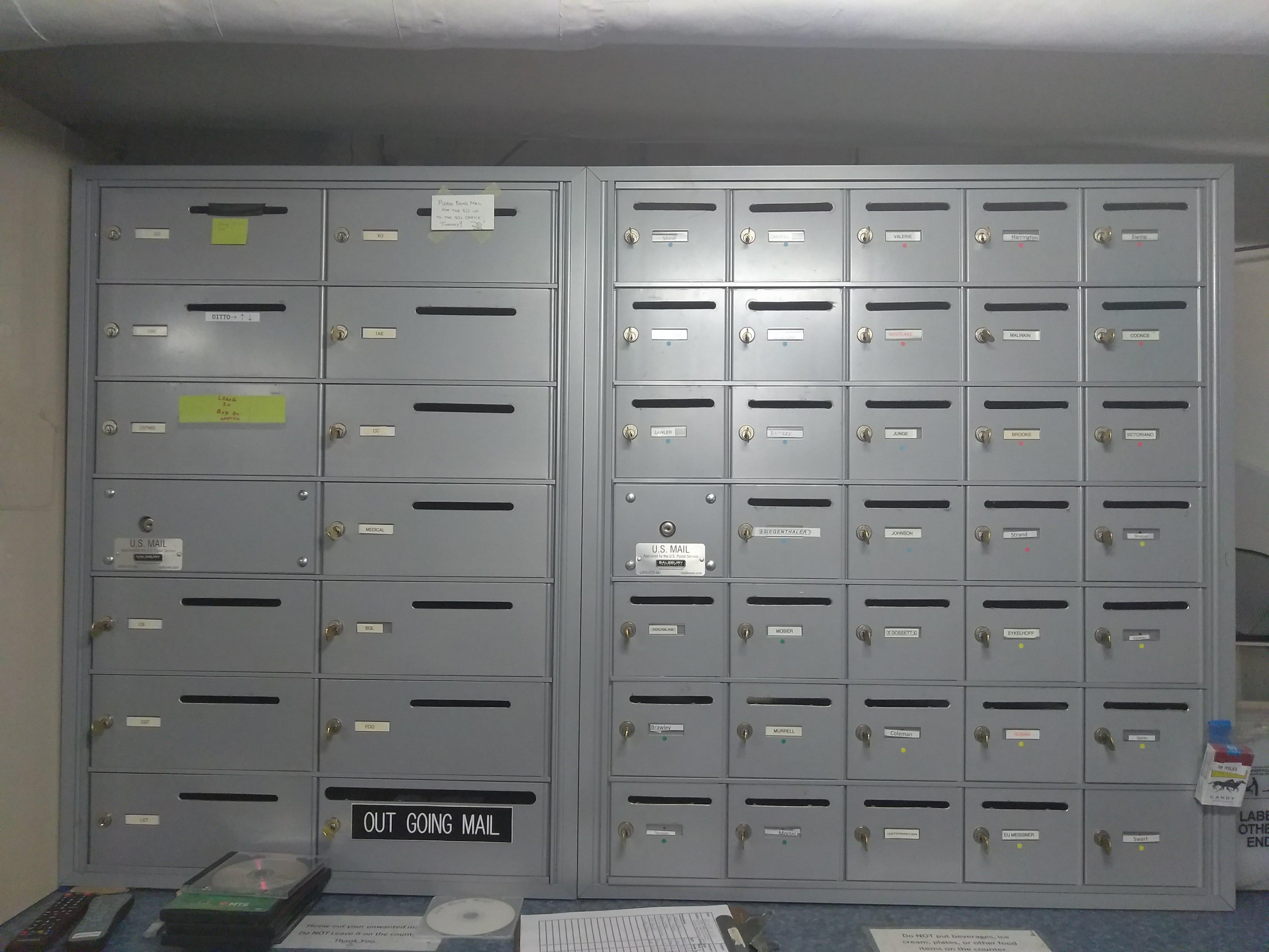 Ship's Mailroom