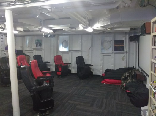 Ship's Movie Theater