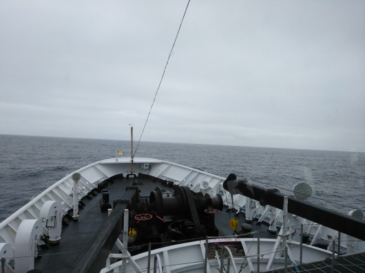 View off bow