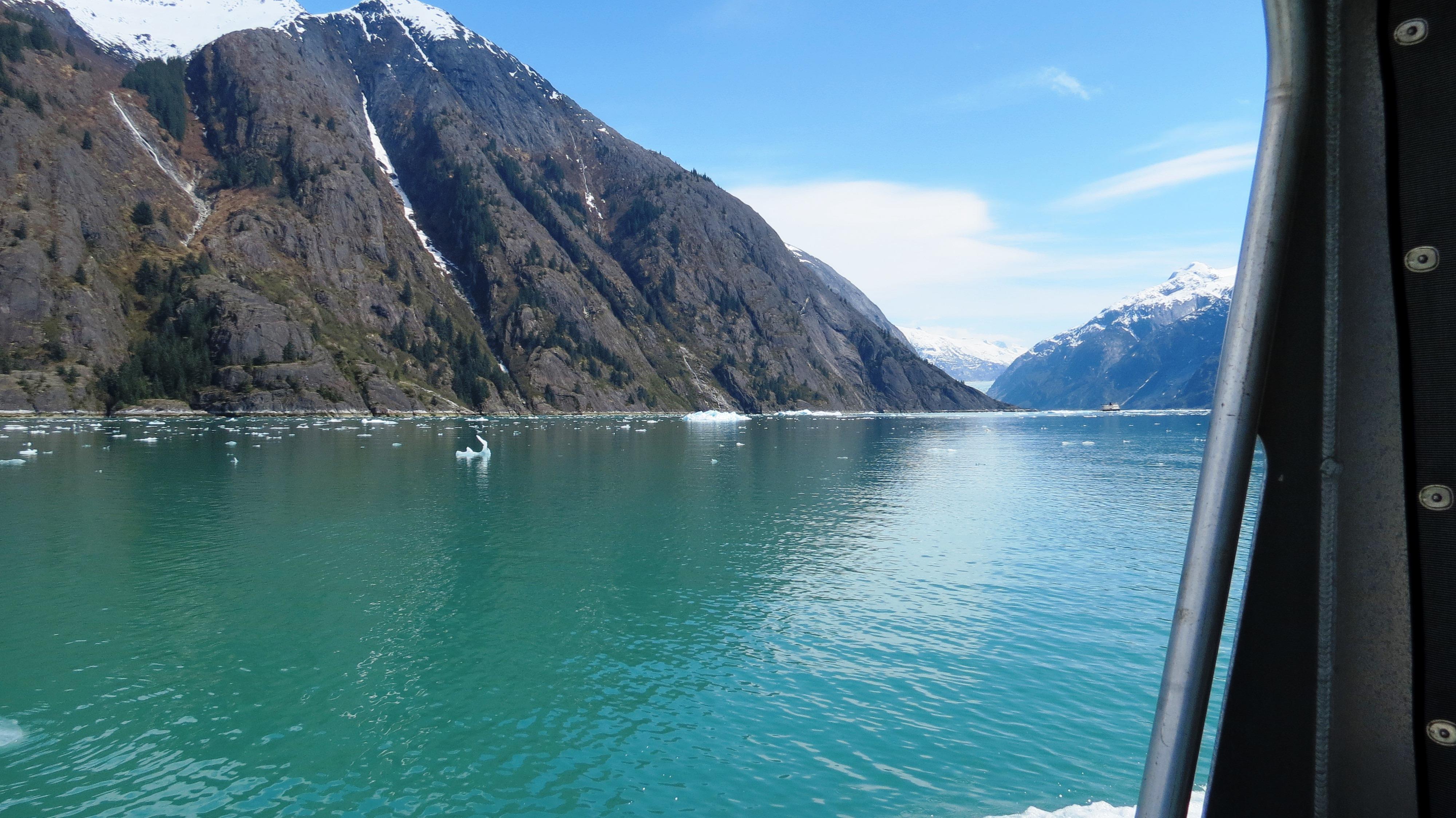 green blue water Endicott
