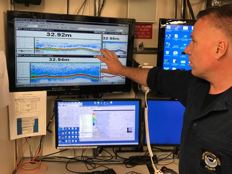 Explaining EK60 software