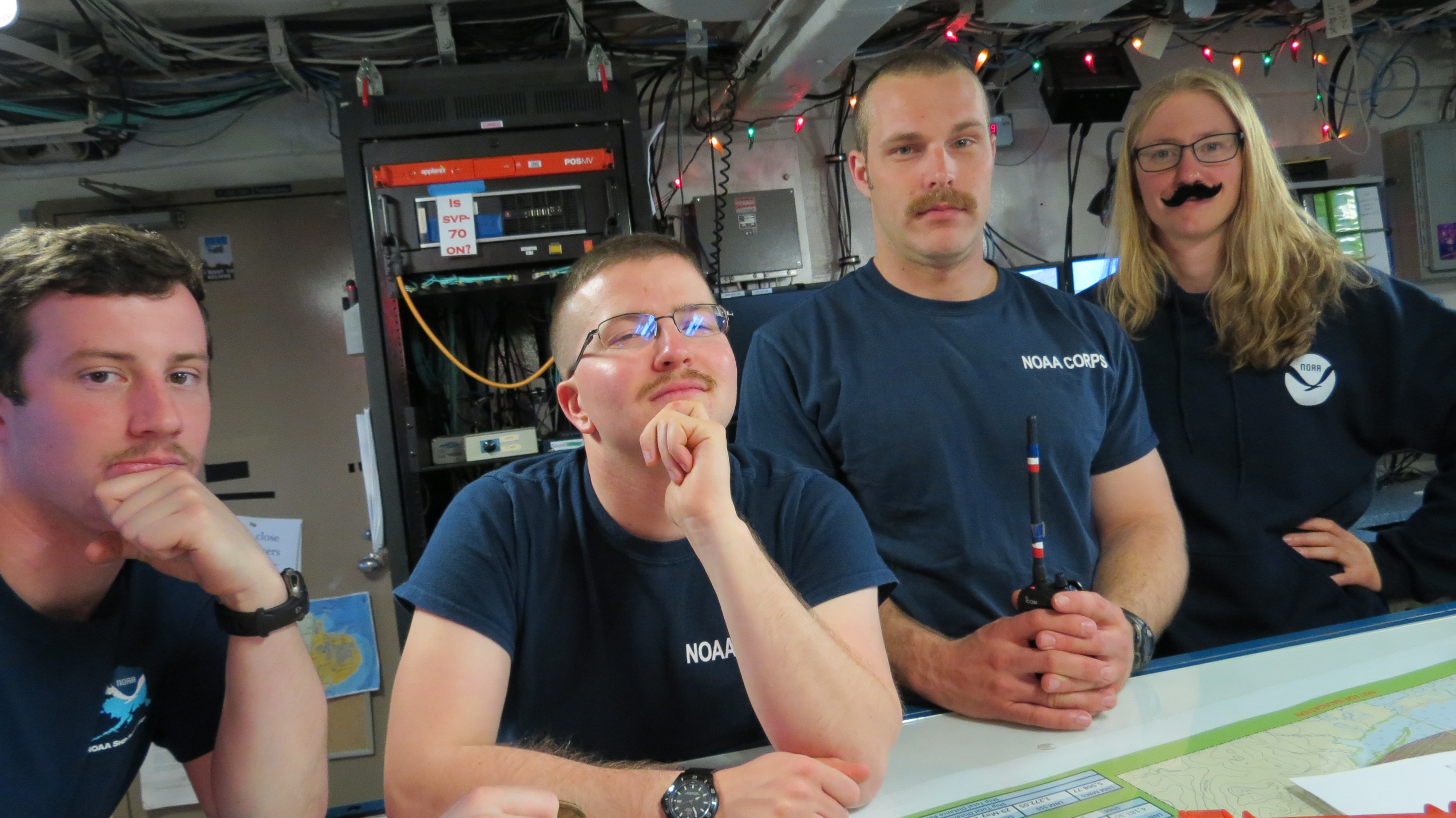 NOAA Corps mustaches