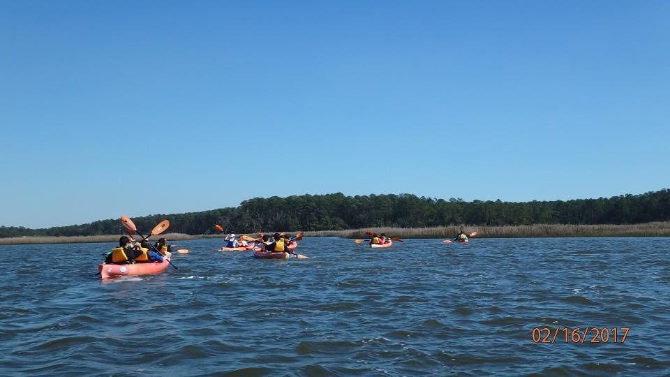 Kids in Kayaks Program