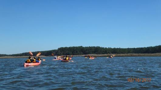 Kids in Kayaks Program
