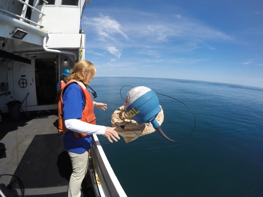 Buoy Released