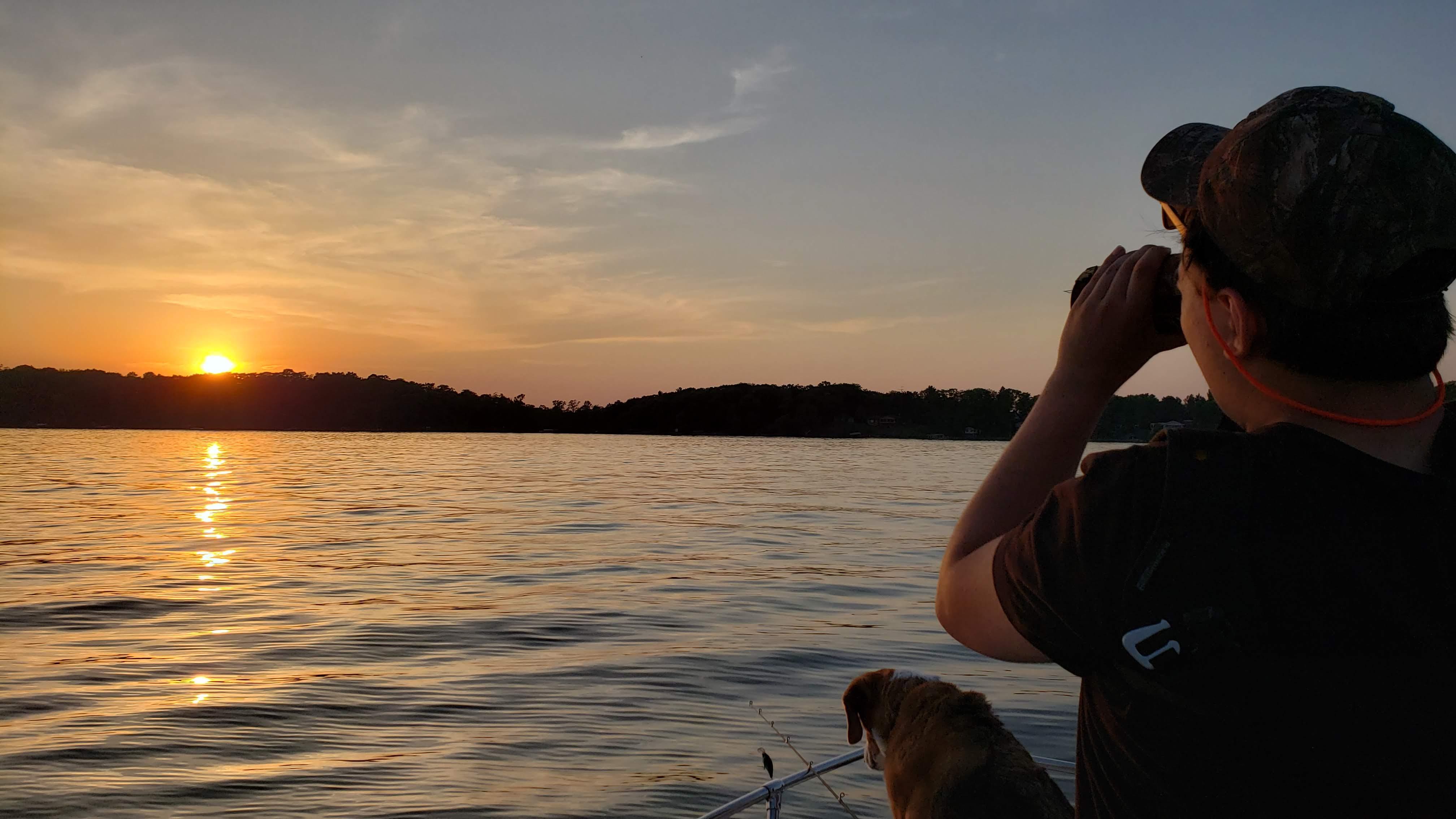 MN Lake Sunset