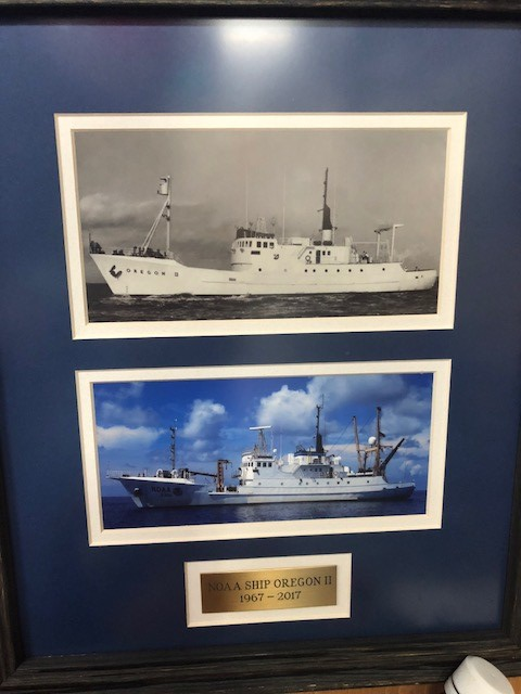 You can see how much the ship has changed in its 50 years!