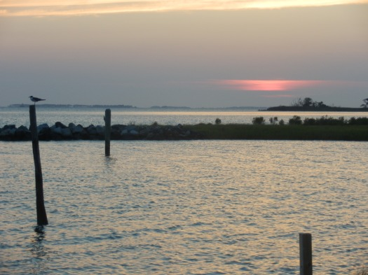 Sunset on the Chesapeake Bay