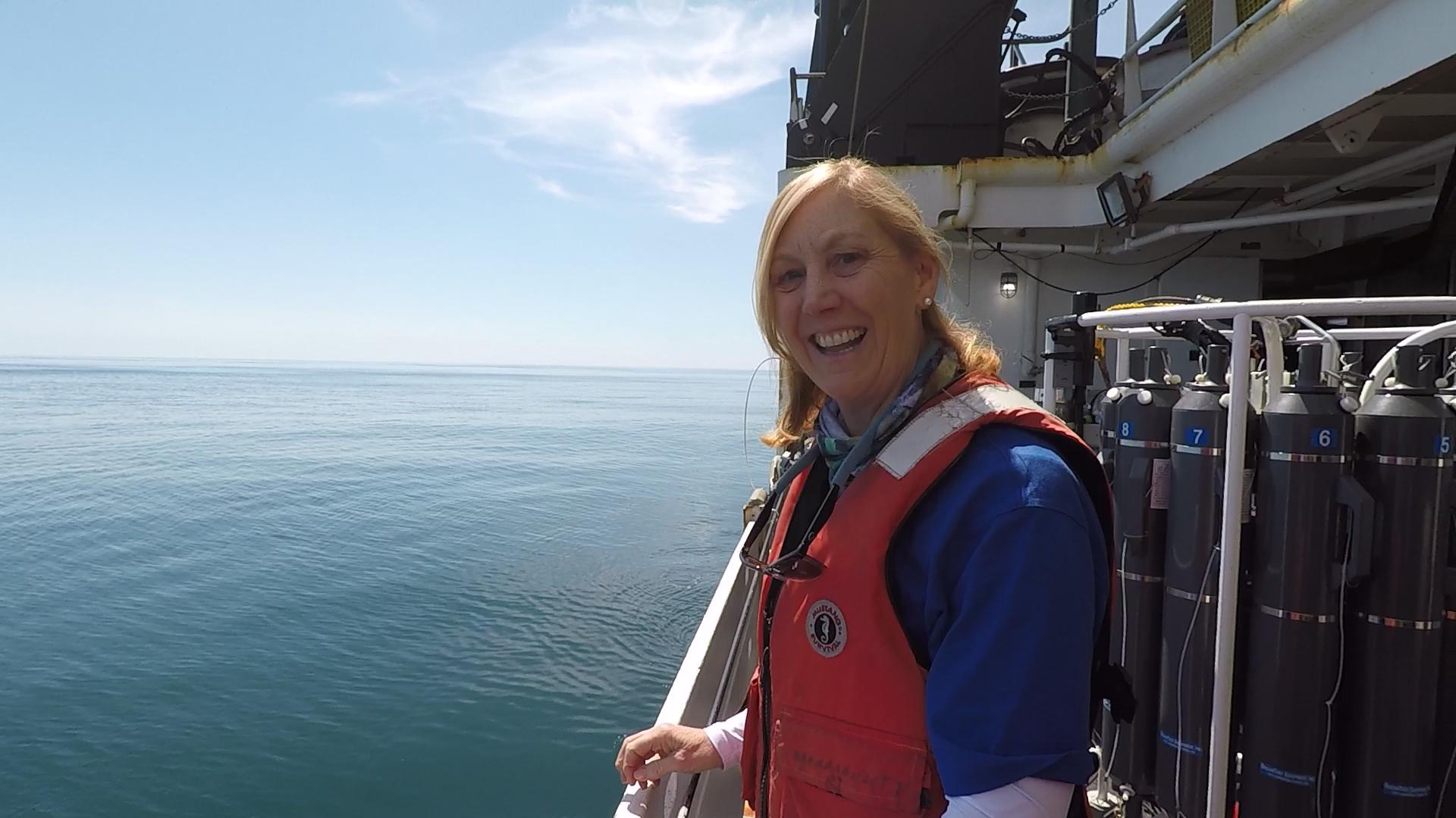 Teacher at Sea Susan Dee