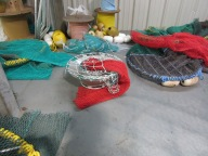 Bycatch reducers with nets