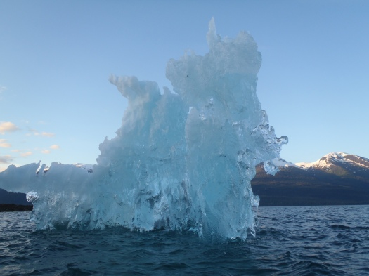Iceberg off Sandy Island