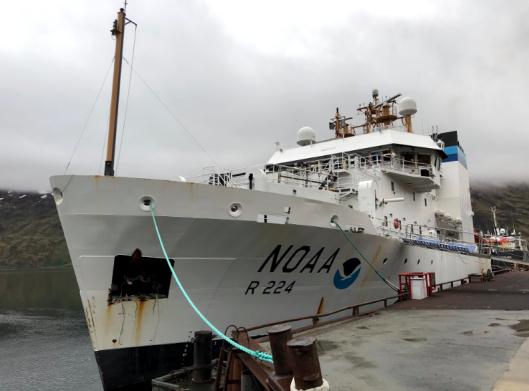 NOAA Ship, Oscar Dyson