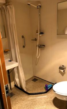 Photo of my restroom on NOAA Ship Oscar Dyson