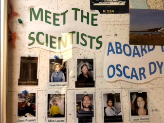 picture board of scientists