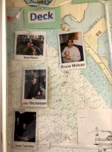 Pictures of deck crew