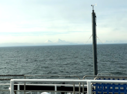 Image taken off of the Alaskan Peninsula taken from the Flying Bridge on 6/9/18 in the morning.