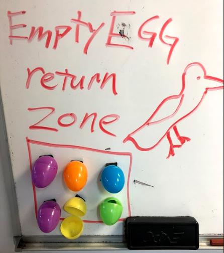 Easter Egg return zone