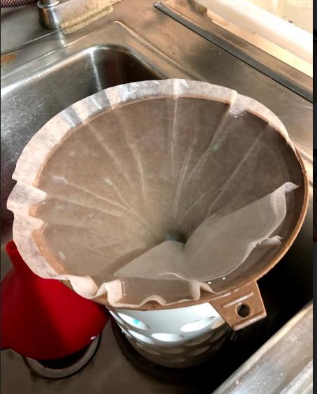 Filtering Ocean Water