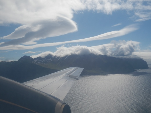 Clouds over Dutch Harbor, AK