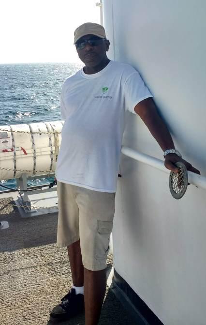Chief Boatswain Bernard Pooser