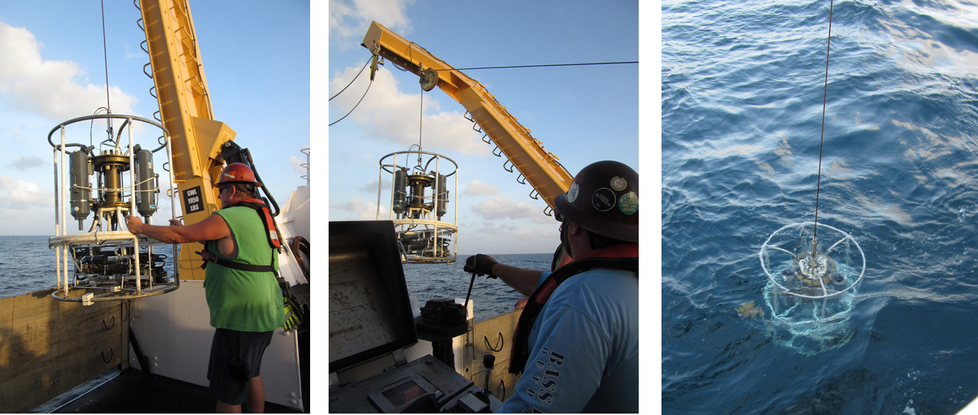 Casting the CTD is a coordinated effort.