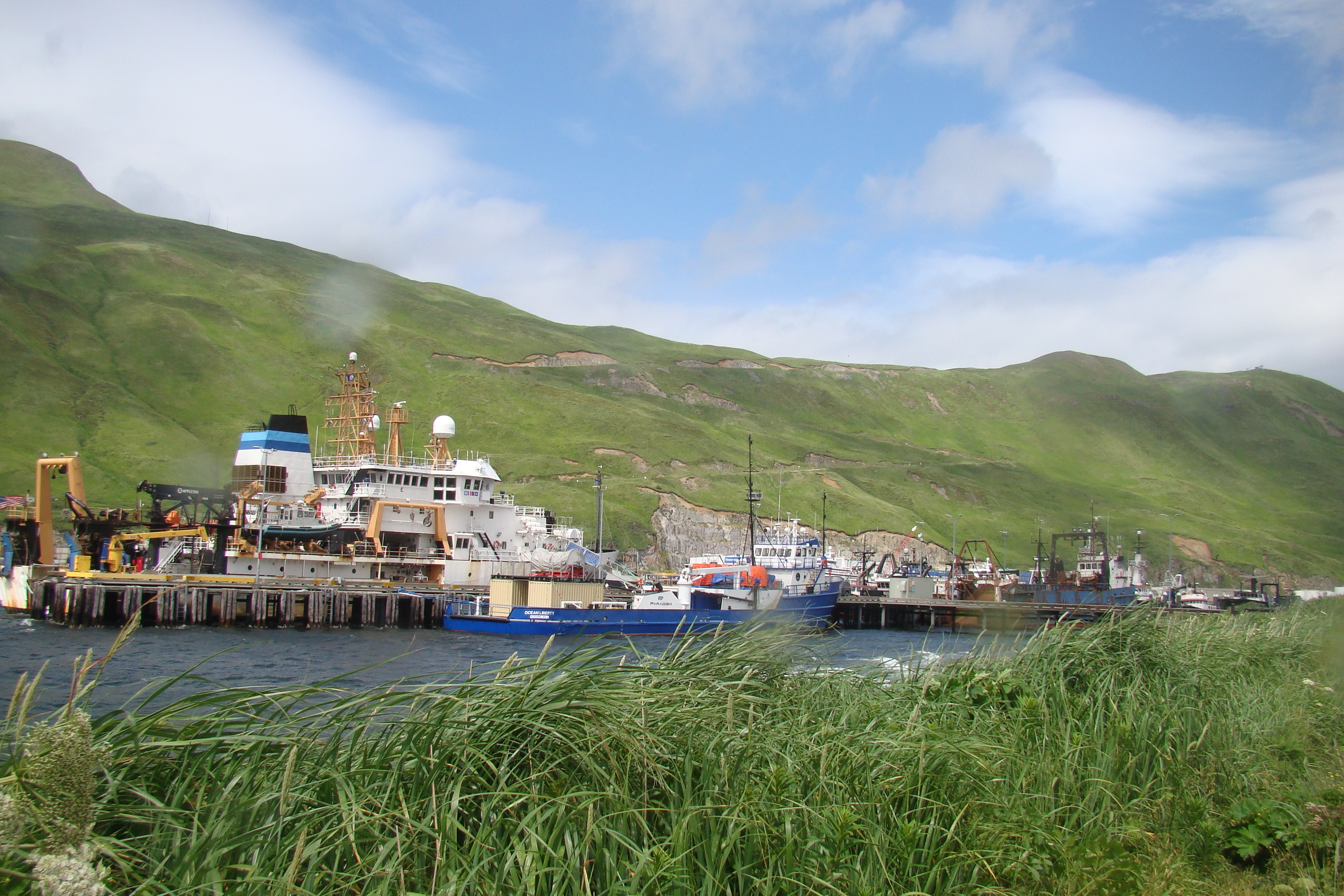 NOAA Ship Oscar Dyson at Port in Dutch Harbor, AK