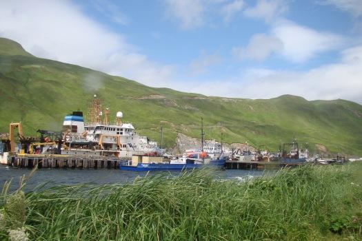 NOAA ShipOscar Dyson at Port in Dutch Harbor, AK