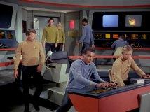 Bridge of Star Trek's USS Enterprise. Photo credit: http://www.ex-astris-scientia.org/gallery/bridges2.htm