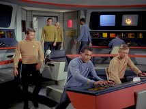 Bridge of Star Trek's USS Enterprise. Photo credit: http://www.ex-astris-scientia.org/gallery/bridges2.htm