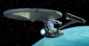 Star Trek's USS Enterprise. Image credit: www.nbc.com