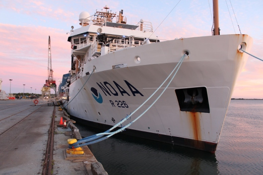 NOAA Ship Pisces in port