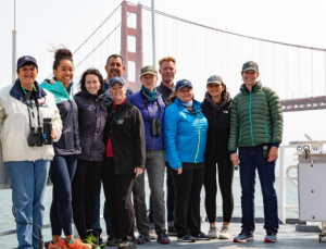 ACCESS Research Team Departing San Francisco Bay