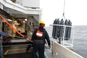 Retrieving the CTD Rosette