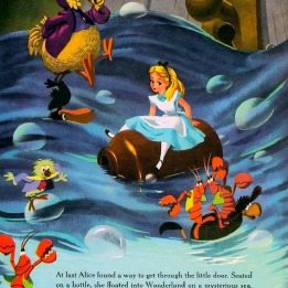 An illustration of Alice in Wonderland