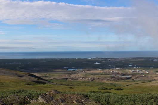 Nome from Anvil Mountain