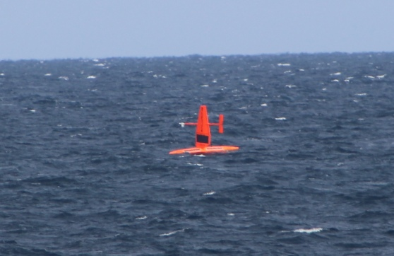 Saildrone on the ocean