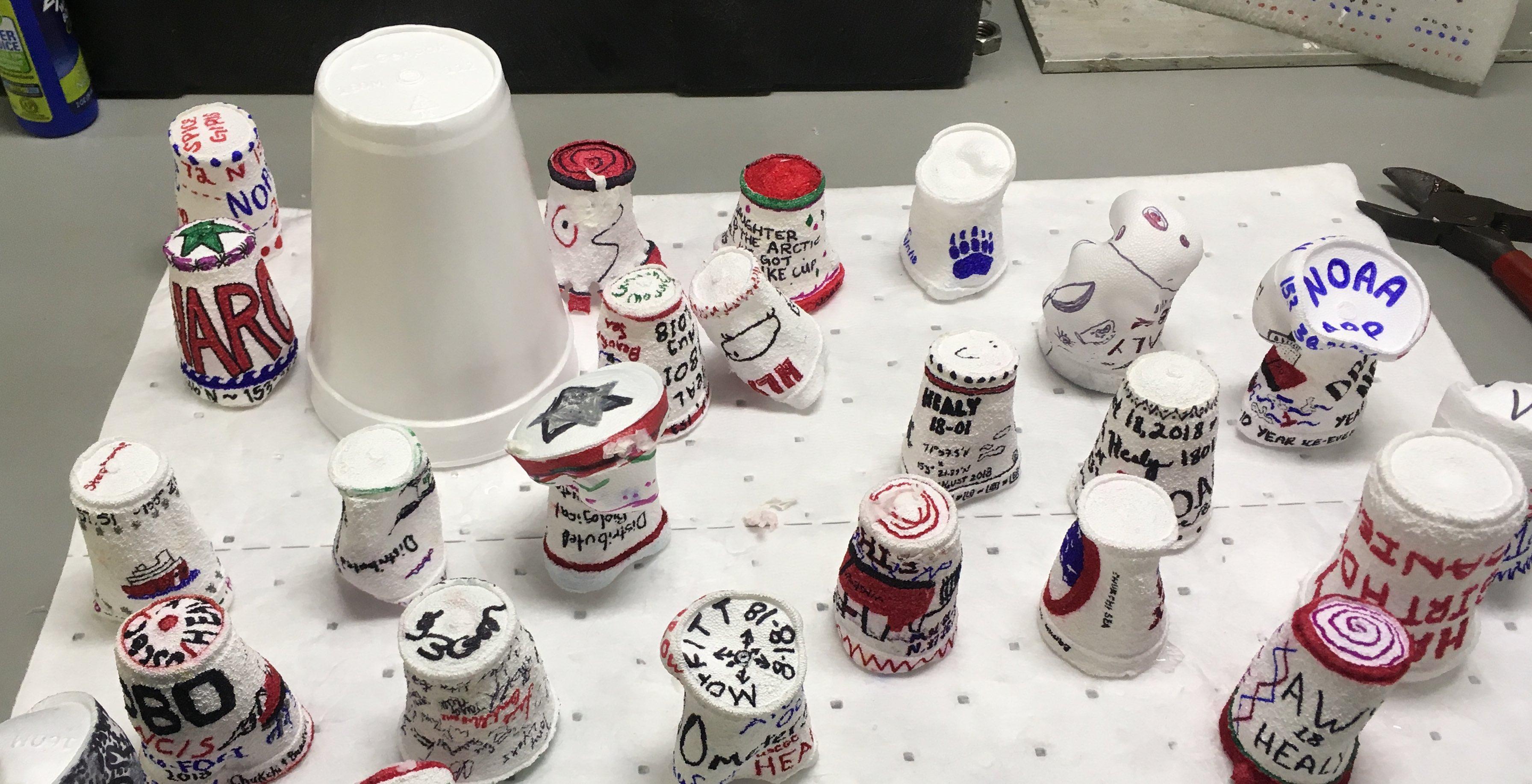 shrunk cups