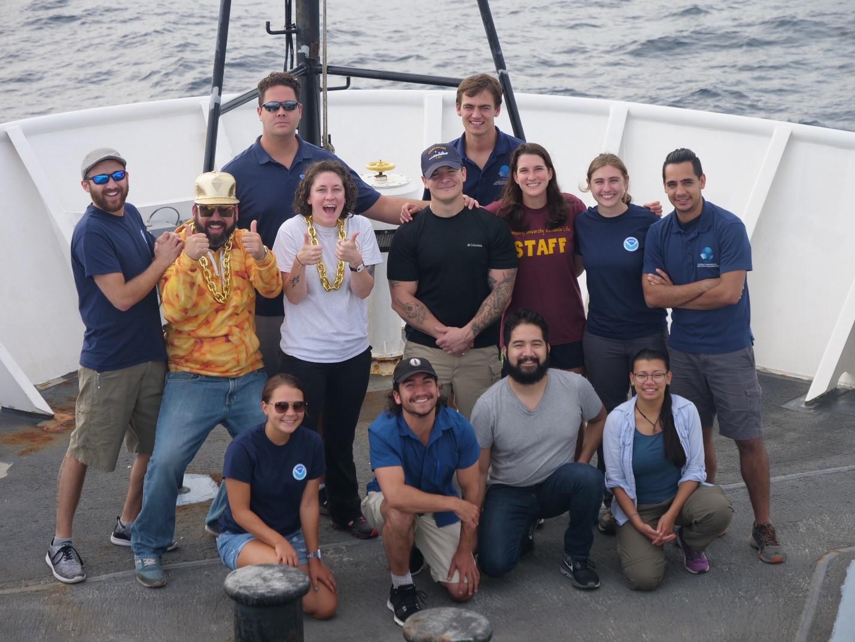 Okeanos MAPPING TEAM!