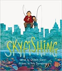 The cover of the book Skyfishing