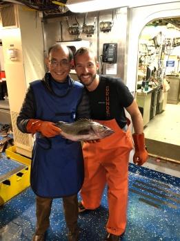 Dr. Chu and rockfish