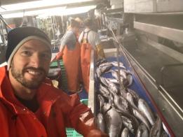 Justin and fish