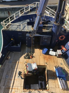 Loading gear on the Tiglax